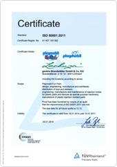 certification politique PLAYMOBIL/LECHUZA de protection de l'énergie