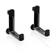 LECHUZA Balcony brackets black