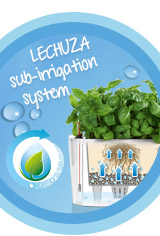 The LECHUZA sub-irrigation-system