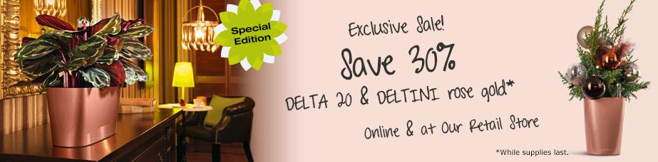 DELTA 20 and DELTINI rosegold